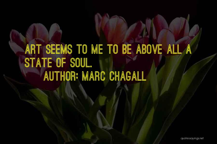 Marc Chagall Quotes 94401
