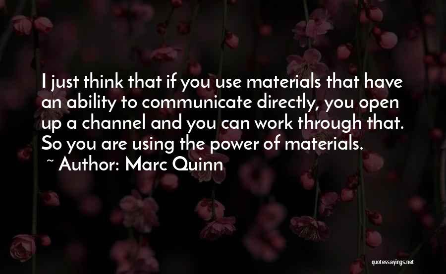Marc Quinn Quotes 1852367