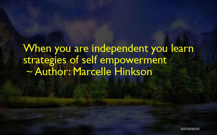 Marcelle Hinkson Quotes 221072