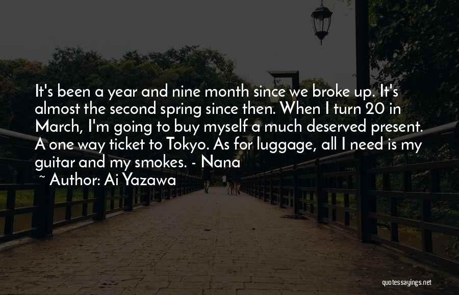 March Month Quotes By Ai Yazawa