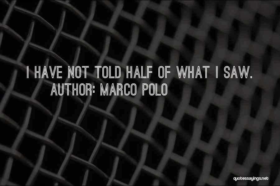 Marco Polo Quotes 236792