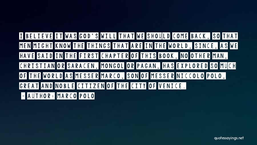 Marco Polo Quotes 97802