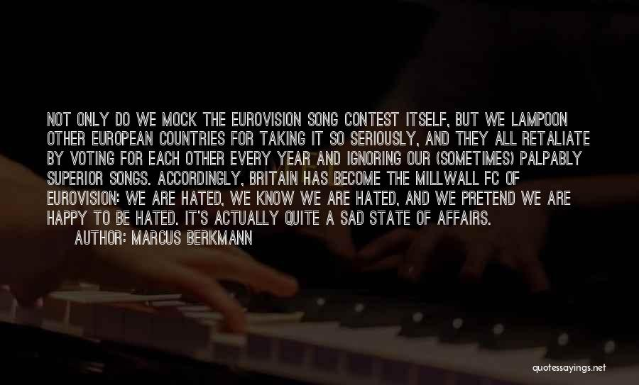 Marcus Berkmann Quotes 619693