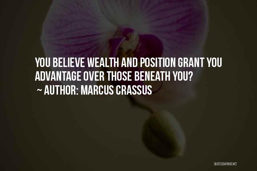 Marcus Crassus Quotes 1138357
