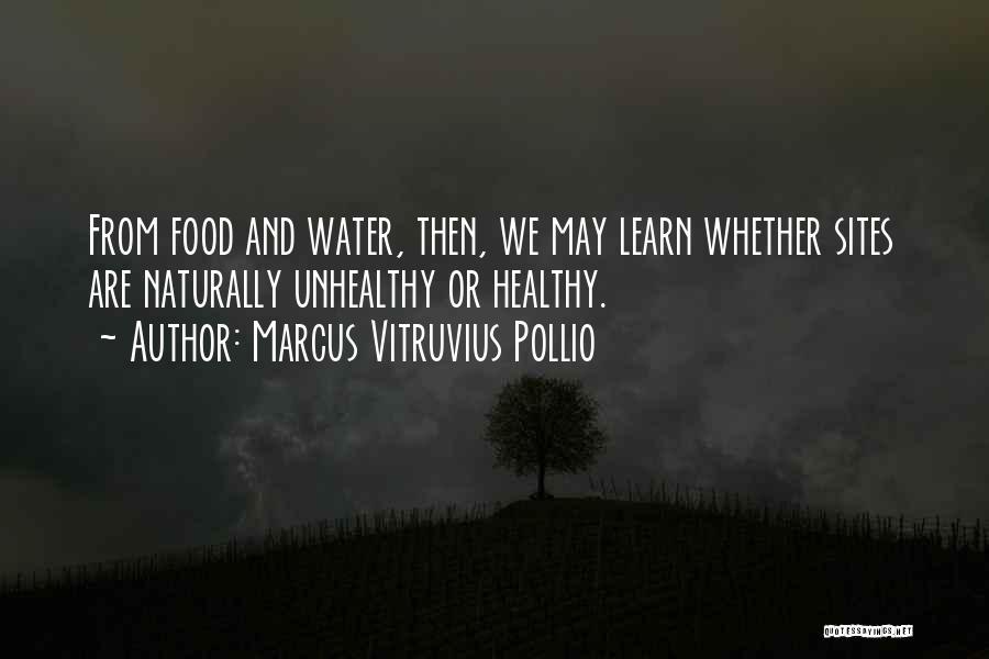 Marcus Vitruvius Pollio Quotes 1481582