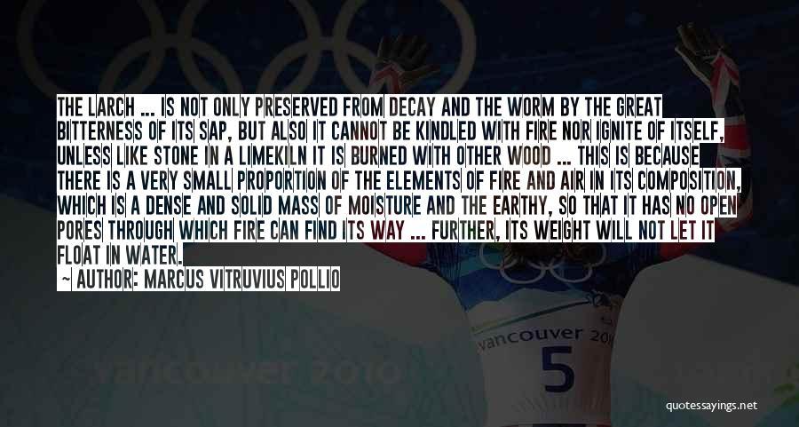 Marcus Vitruvius Pollio Quotes 1735094