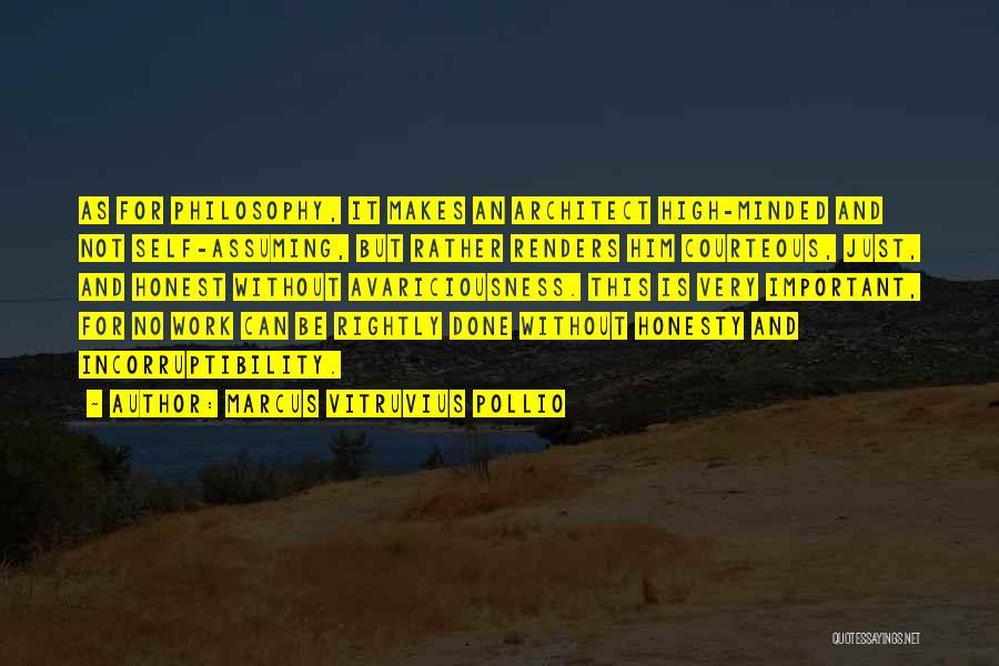 Marcus Vitruvius Pollio Quotes 1791571