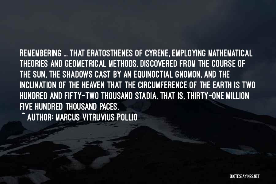 Marcus Vitruvius Pollio Quotes 1849324