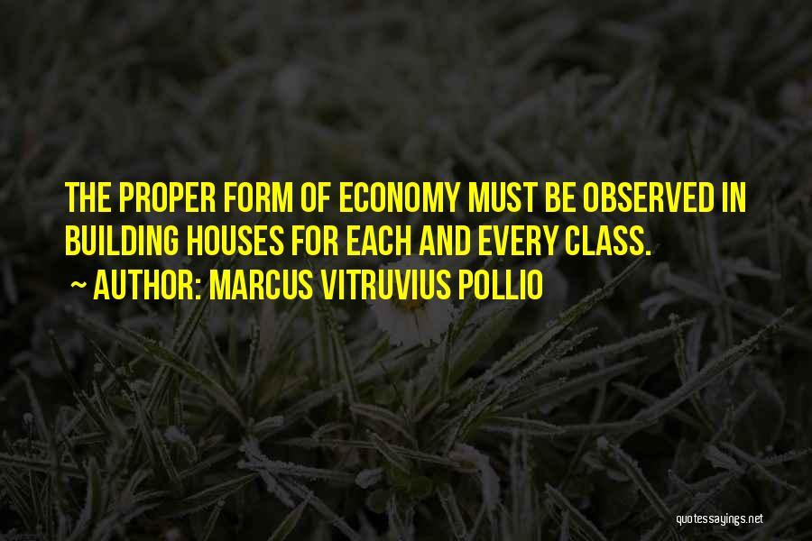 Marcus Vitruvius Pollio Quotes 359047