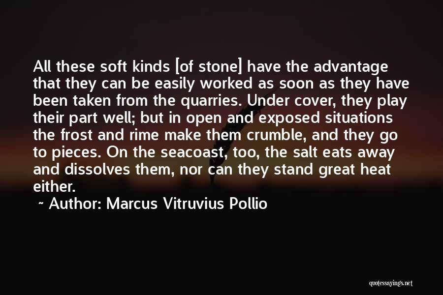 Marcus Vitruvius Pollio Quotes 378890