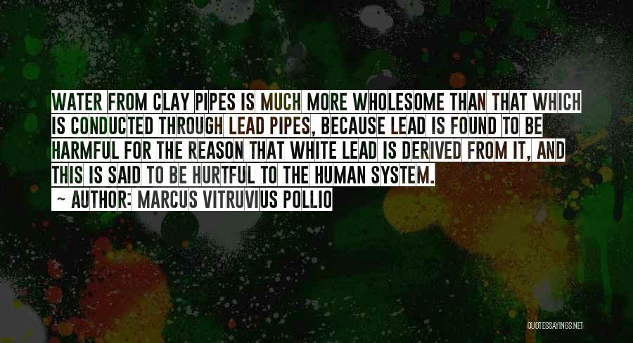 Marcus Vitruvius Pollio Quotes 473918