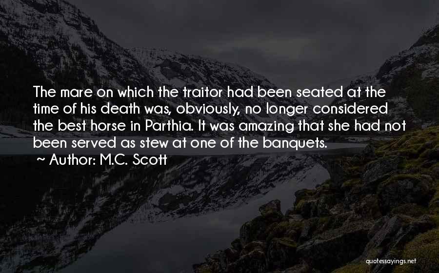 Mare Horse Quotes By M.C. Scott