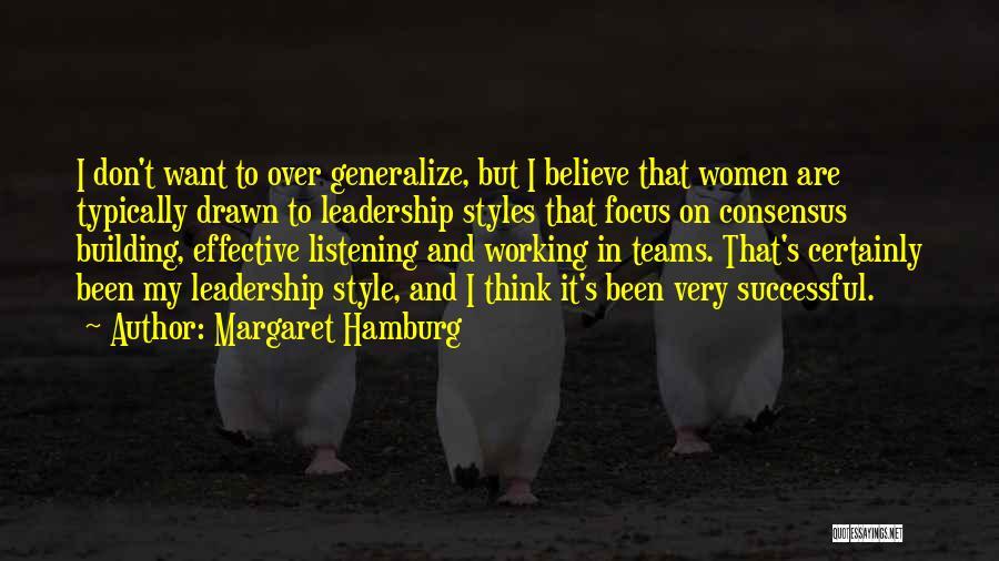 Margaret Hamburg Quotes 265690