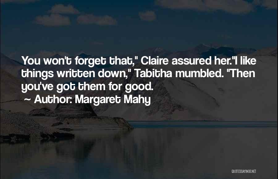 Margaret Mahy Quotes 743583