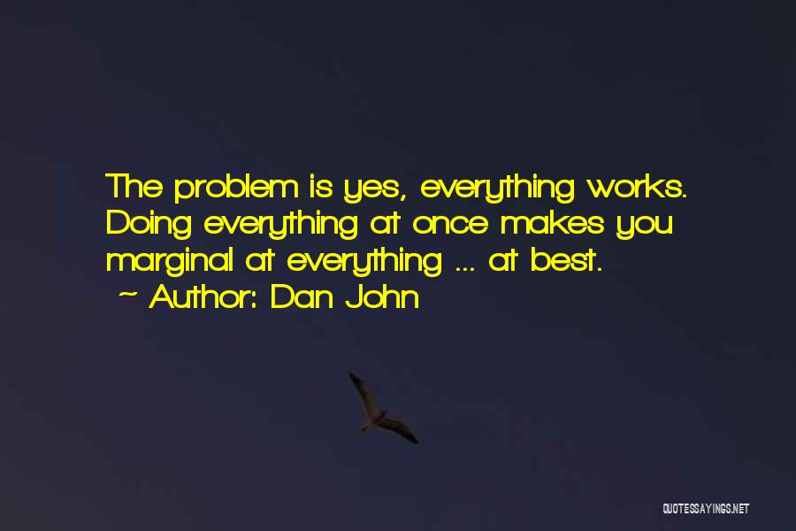 Marginal Quotes By Dan John
