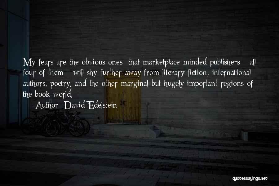 Marginal Quotes By David Edelstein