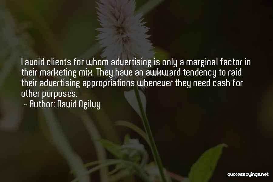 Marginal Quotes By David Ogilvy