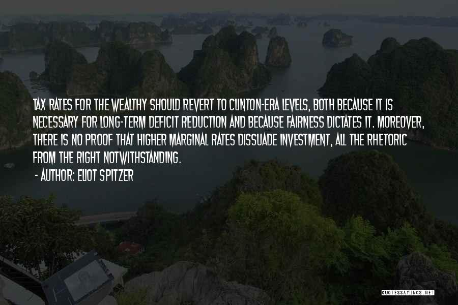 Marginal Quotes By Eliot Spitzer