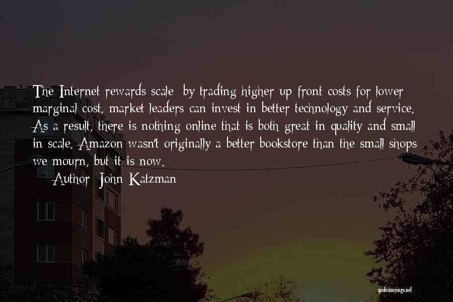 Marginal Quotes By John Katzman