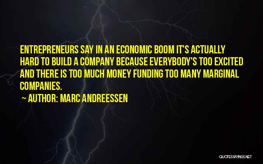 Marginal Quotes By Marc Andreessen