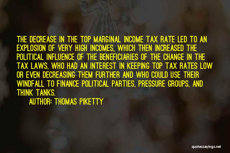 Marginal Quotes By Thomas Piketty