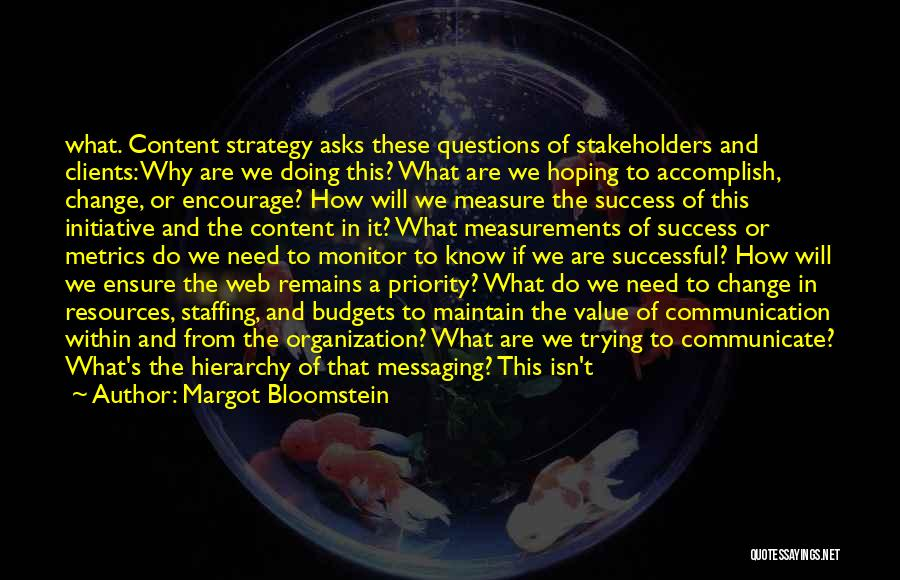 Margot Bloomstein Quotes 531695