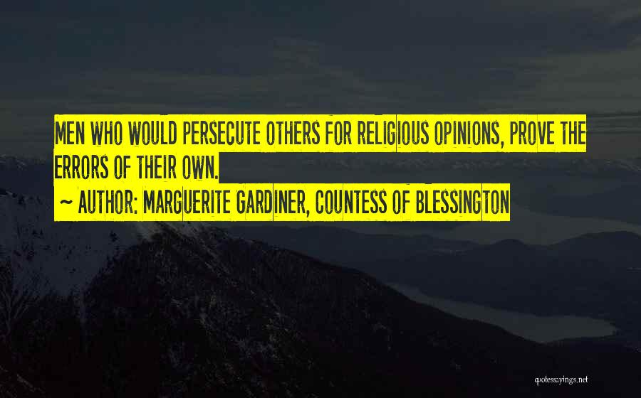 Marguerite Gardiner, Countess Of Blessington Quotes 1017422