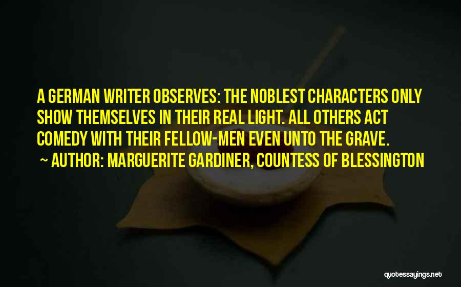 Marguerite Gardiner, Countess Of Blessington Quotes 1129524