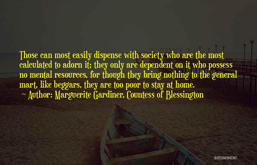 Marguerite Gardiner, Countess Of Blessington Quotes 1337606