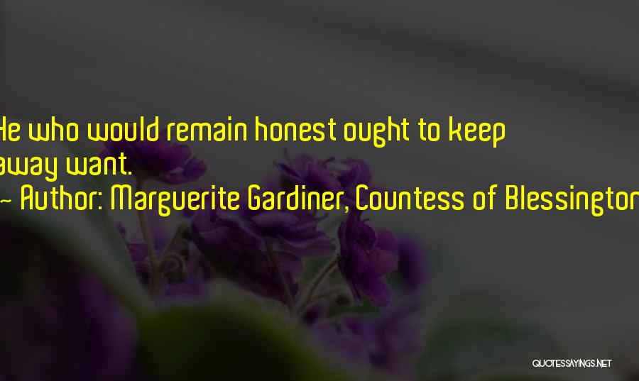 Marguerite Gardiner, Countess Of Blessington Quotes 1383594