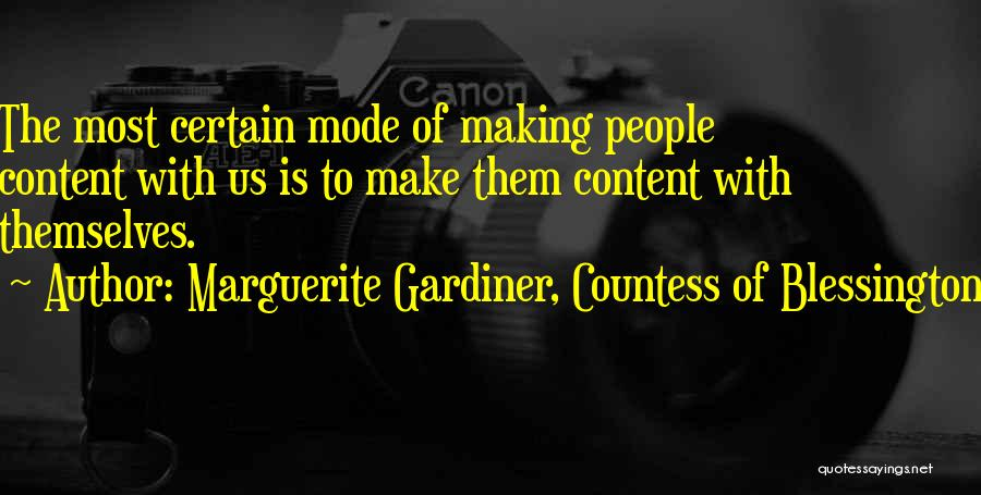 Marguerite Gardiner, Countess Of Blessington Quotes 1388230