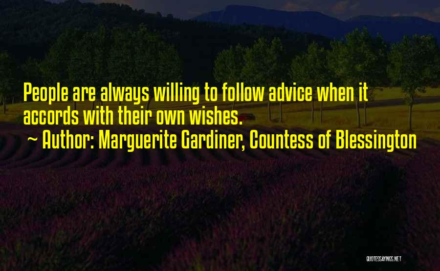Marguerite Gardiner, Countess Of Blessington Quotes 1565048