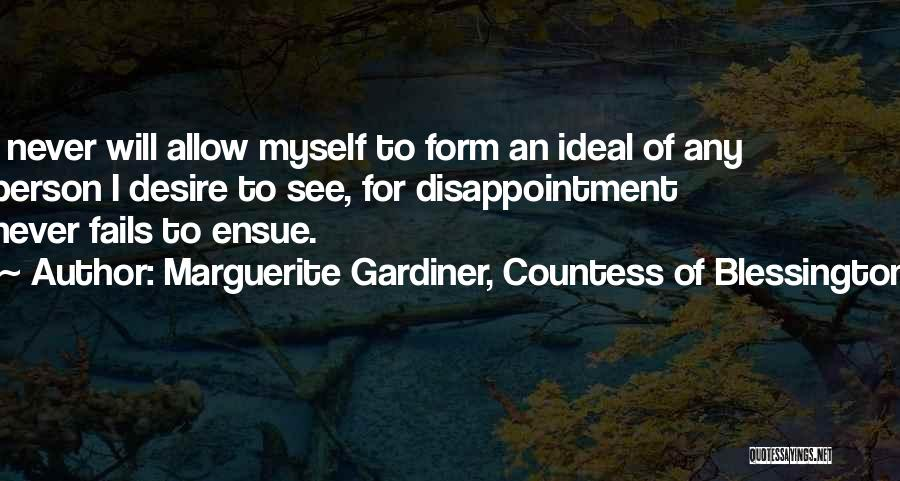 Marguerite Gardiner, Countess Of Blessington Quotes 1611653
