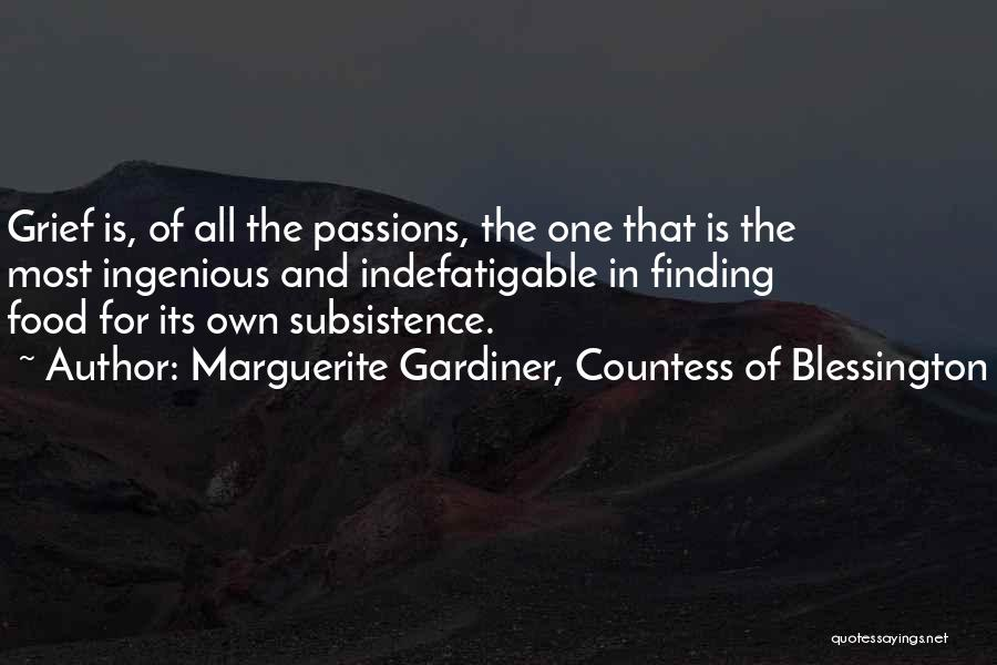 Marguerite Gardiner, Countess Of Blessington Quotes 2148815