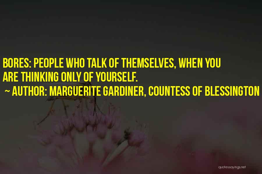 Marguerite Gardiner, Countess Of Blessington Quotes 2173466