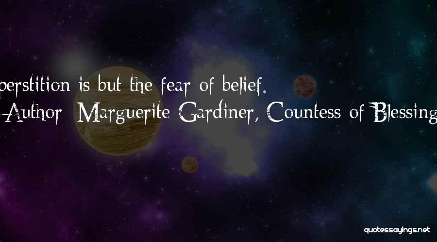 Marguerite Gardiner, Countess Of Blessington Quotes 2213997