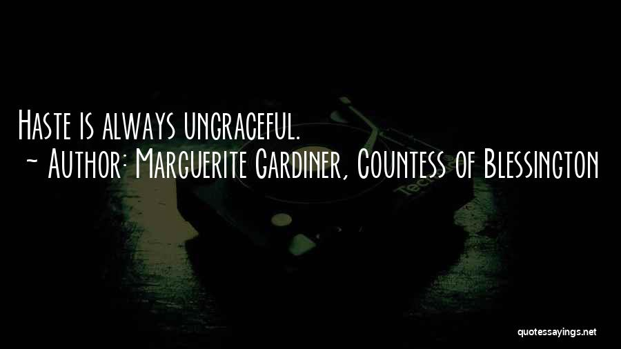 Marguerite Gardiner, Countess Of Blessington Quotes 255341
