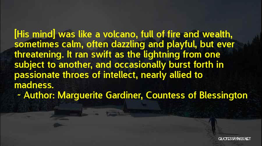 Marguerite Gardiner, Countess Of Blessington Quotes 316010