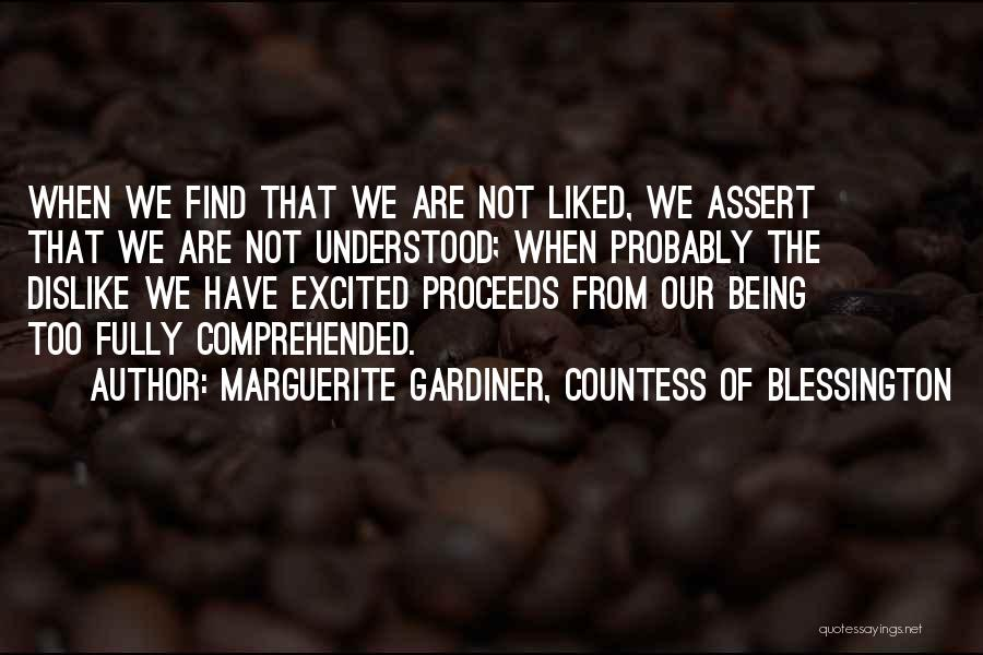 Marguerite Gardiner, Countess Of Blessington Quotes 520043