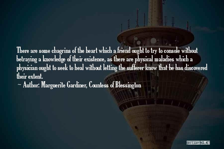 Marguerite Gardiner, Countess Of Blessington Quotes 528429