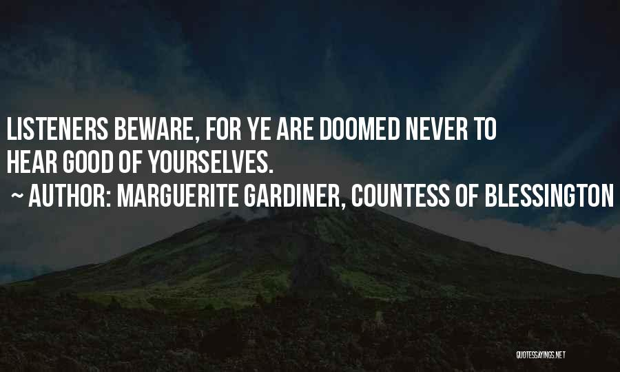 Marguerite Gardiner, Countess Of Blessington Quotes 650991