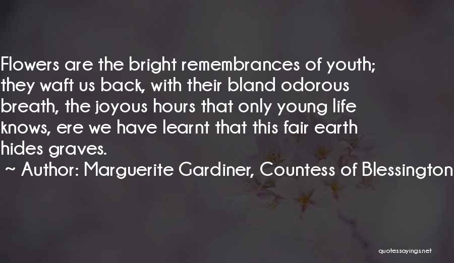Marguerite Gardiner, Countess Of Blessington Quotes 651397