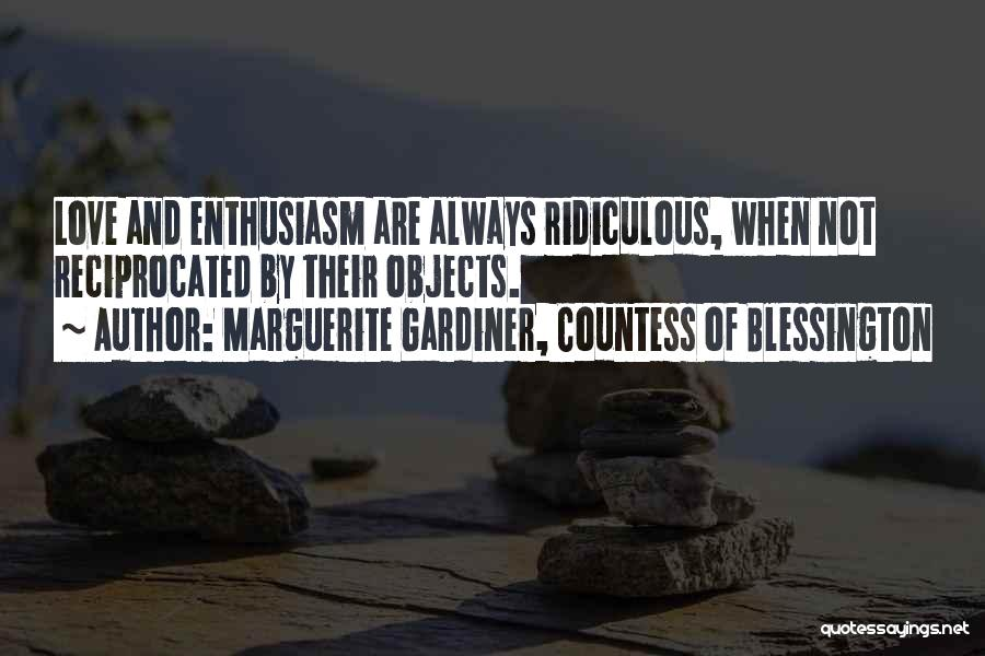 Marguerite Gardiner, Countess Of Blessington Quotes 734483