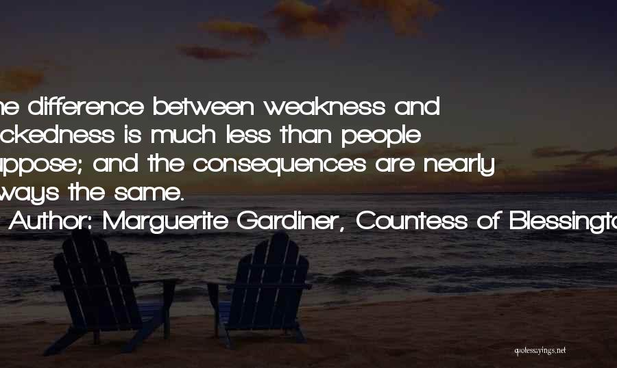 Marguerite Gardiner, Countess Of Blessington Quotes 754547