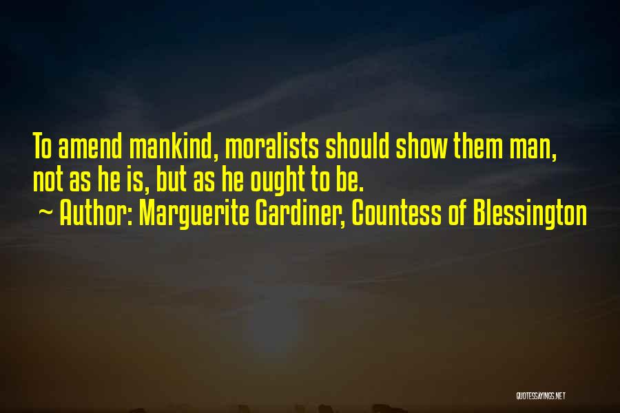 Marguerite Gardiner, Countess Of Blessington Quotes 811214