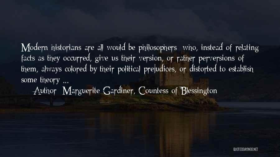 Marguerite Gardiner, Countess Of Blessington Quotes 855933