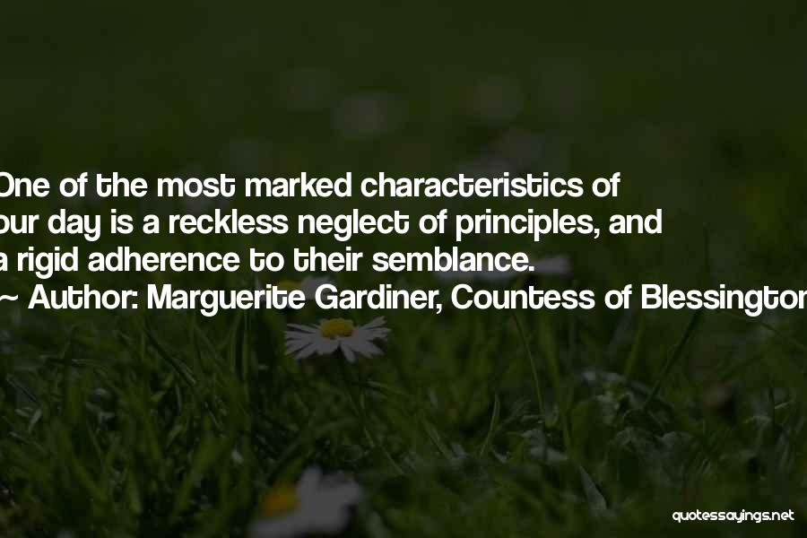Marguerite Gardiner, Countess Of Blessington Quotes 872067