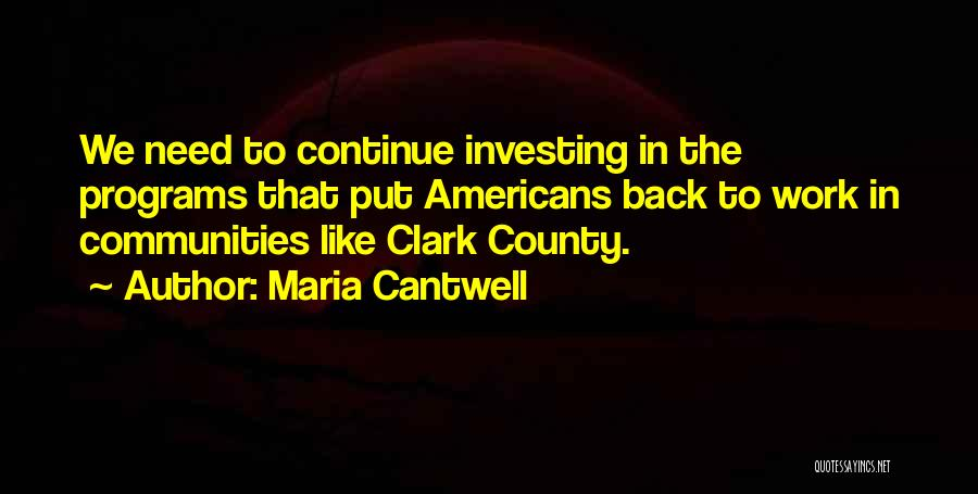 Maria Cantwell Quotes 511209