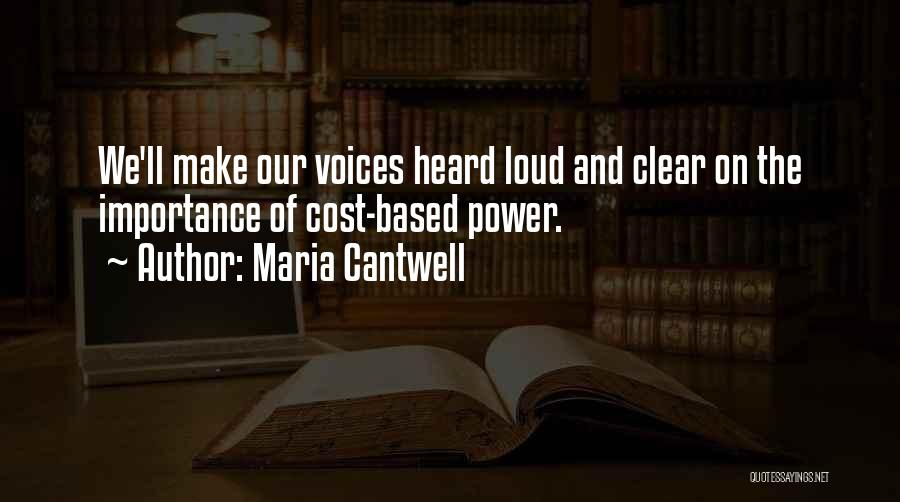 Maria Cantwell Quotes 672514