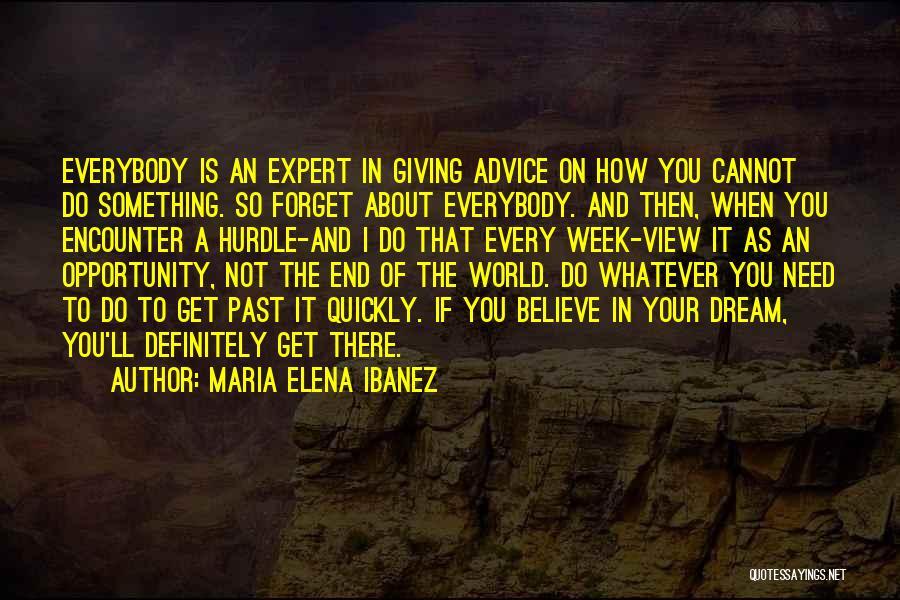 Maria Elena Ibanez Quotes 1472824